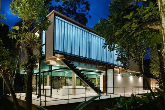 Contemporary Architecture of Iporanga House, Contemporary Architecture, Iporanga House,