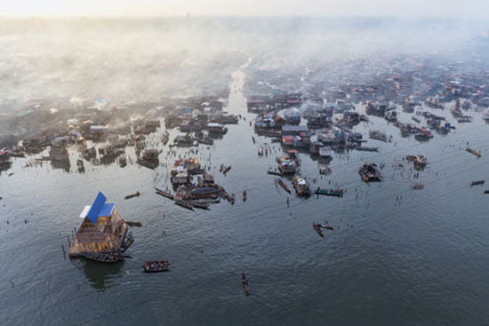 Lagos Water Get Floating School Of Makoko Nigeria