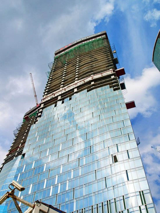 tallest under construction buildings in europe, OKO-Apartment-Tower-Moscow-SOM-352m-Completion-date-2015