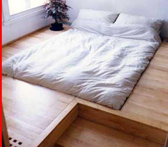 Platform Or Raised Flooring Concept.
