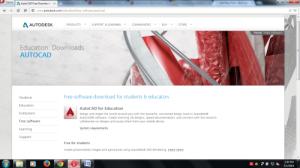 AutoCAD Student Version