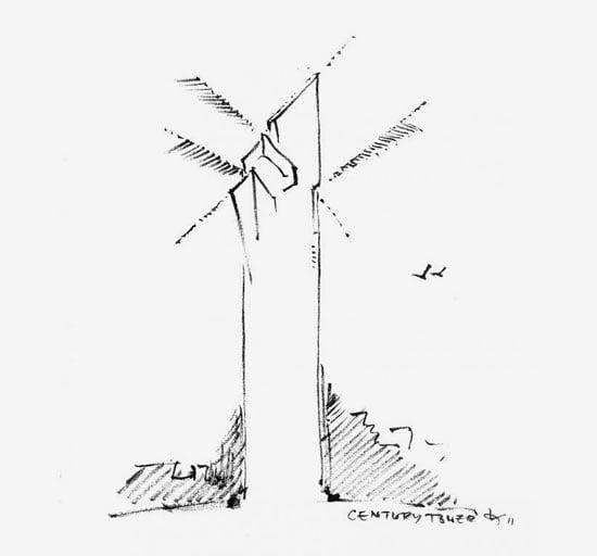 Century Spire by Daniel Libeskind,