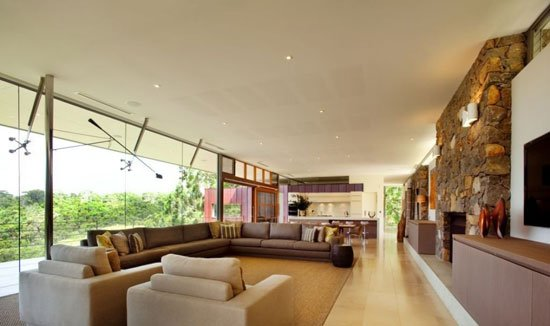 modern architecture holiday home,