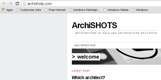 archishots, Indian Architecture and Design Bloggers