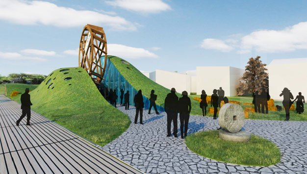 Belarus Pavilion Milan Expo, Wheel Of Fortune,