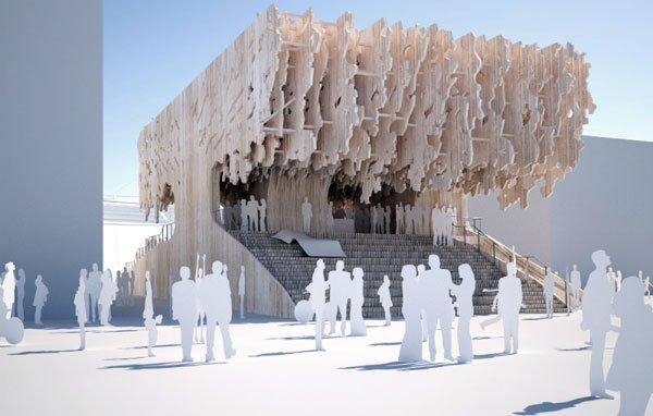 Latvia pavilion Milan expo,