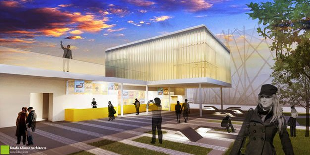 Israel Pavilion Milan Expo,