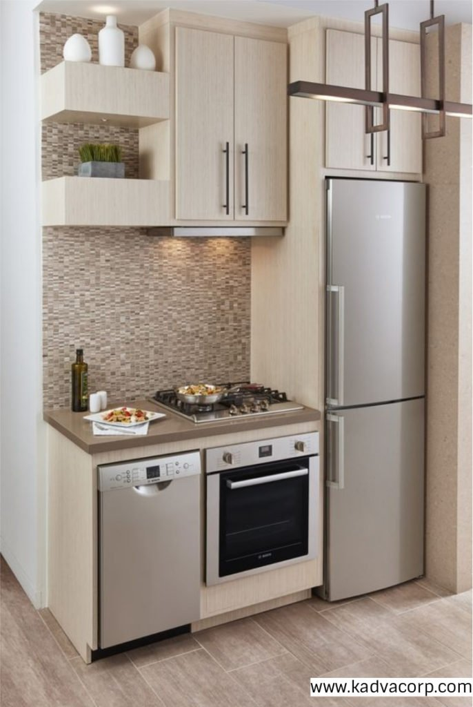 Small area kitchen design ideas home design for Small kitchen area ideas