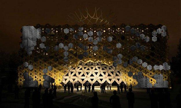 Italian pavilion expo milano,
