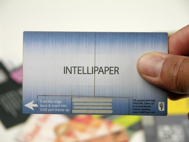 Paper USB Business Card ,