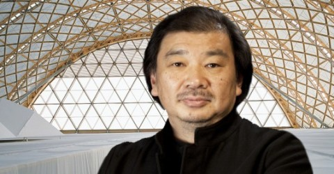 Architect Shigeru Ban,