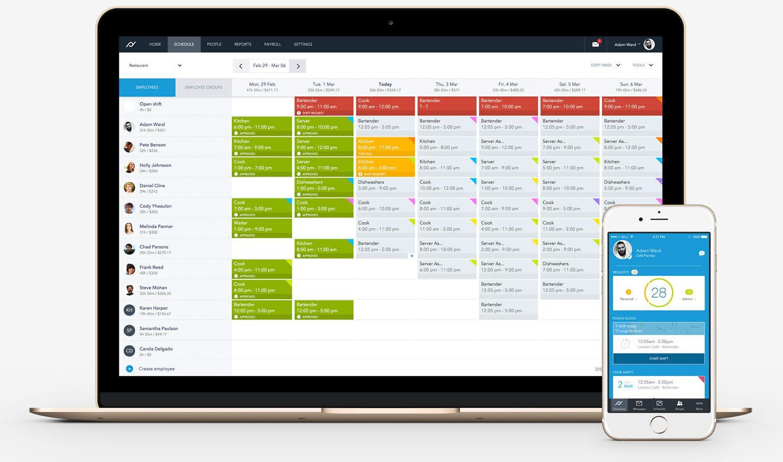 employee scheduling software,