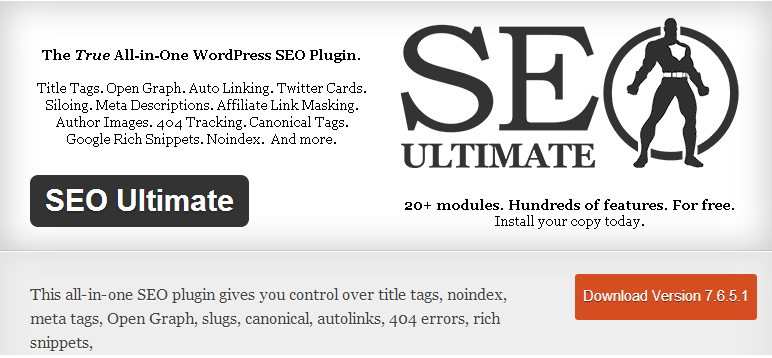 seo ultimate -kadvacorp, WordPress SEO Plugins,