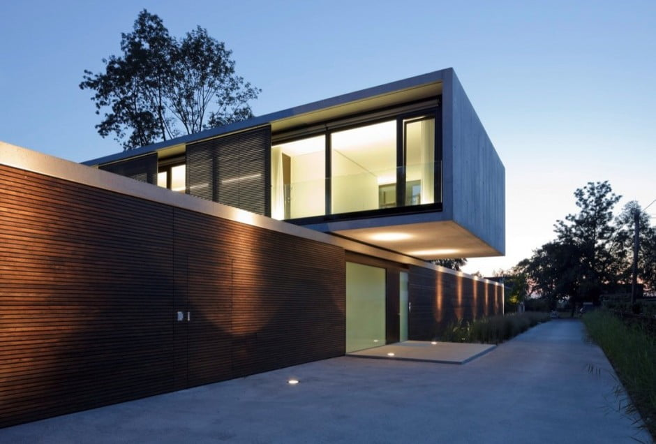 contemporary modern house characteristics defining two