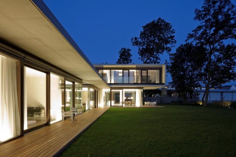 Contemporary Modern House Characteristics, LK House, Austria,