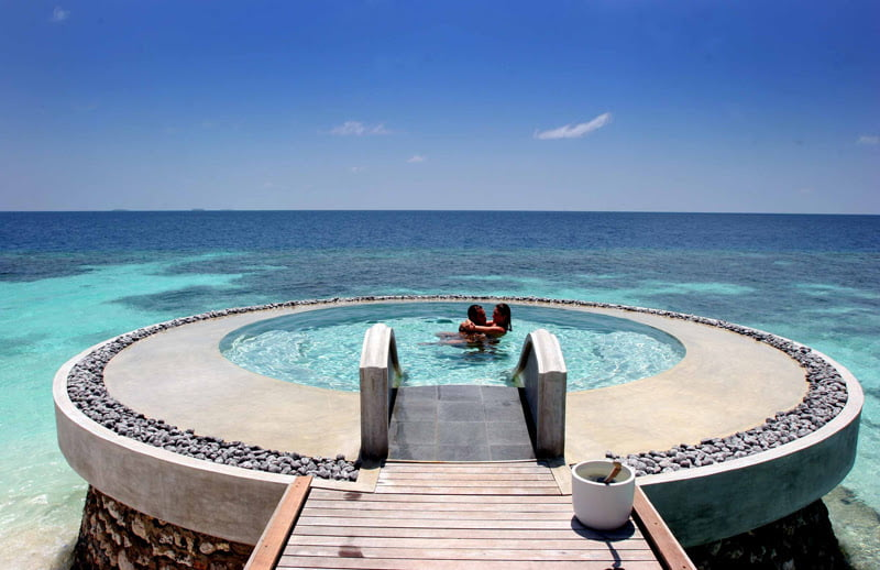 Huvafen Fushi – Maldives, swimming pools,