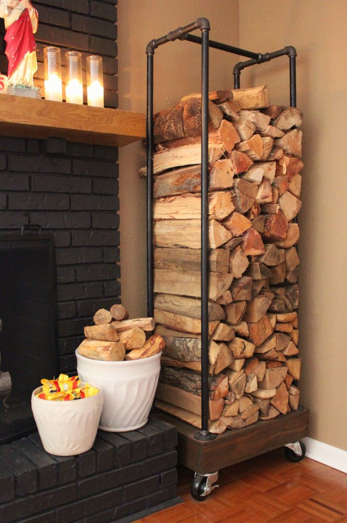 Firewood Storage Design, indoor firewood storage ideas, decorative indoor firewood rack, firewood box ideas, firewood storage containers, fireplace with wood storage built in, firewood holder indoor, firewood rack with cover, firewood storage plans,