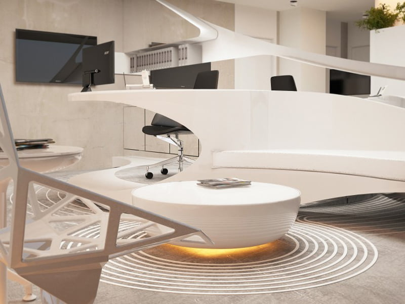 Organic Architecture Characteristics In This Dental Clinic