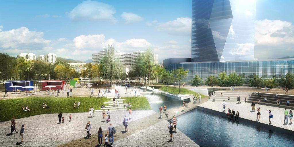 waterfront park development,