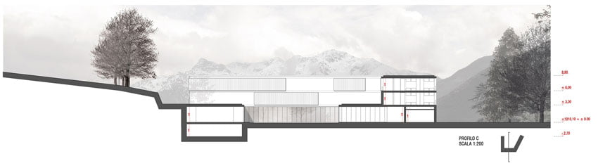 Award-Winning-Boarding-School-Design-by-AM3-Onto-Mount-Stelvio-in-Bozen,-Italy-(5)