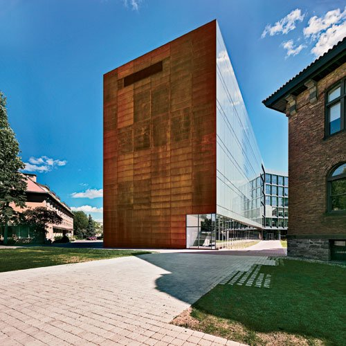 Contemporary architecture of science building ja college for College john abbott piscine