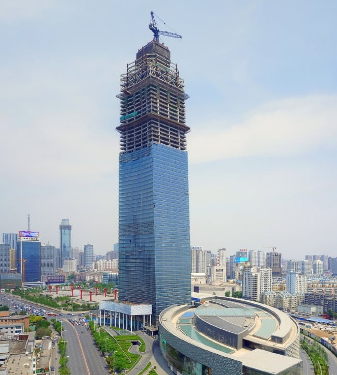 forum 66 tower 2 in shenyang tallest building tallest building in the world - Future Tallest Building In The World Under Construction