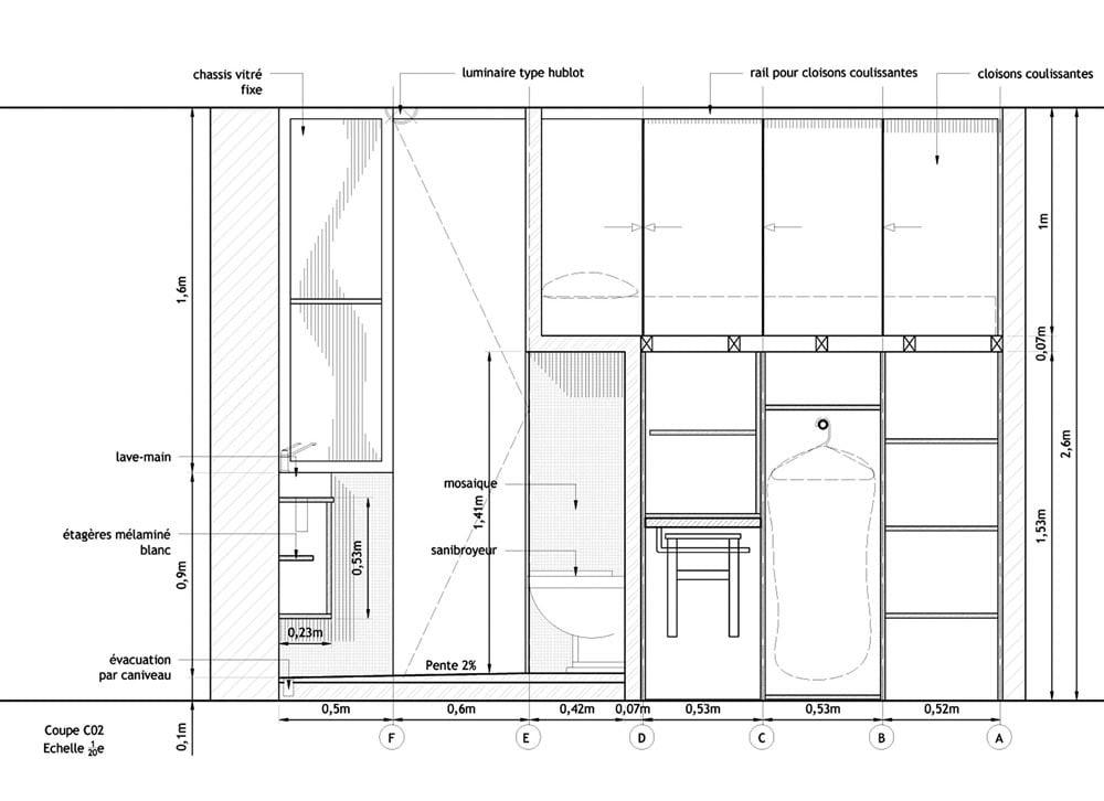 compact, interior design,