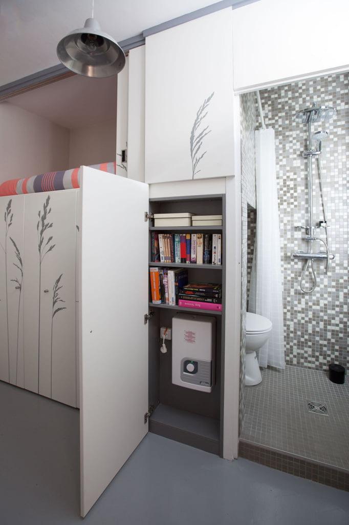 compact interior design,