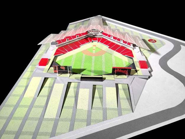 baseball stadium architecture,