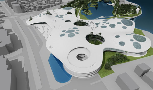 Natural-Science-Museum-Complex-in-Constanta,-Romania-by-SYAA-(18)