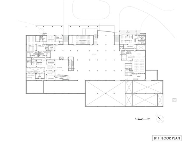 Seowon golf clubhouse design by itm and itami architects for Clubhouse blueprints