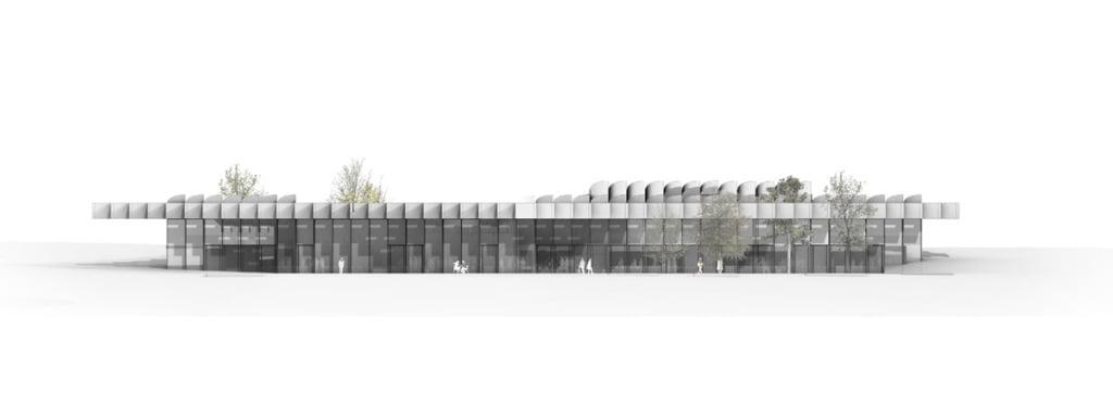 adidas flagship building,