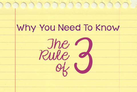 rule of three,