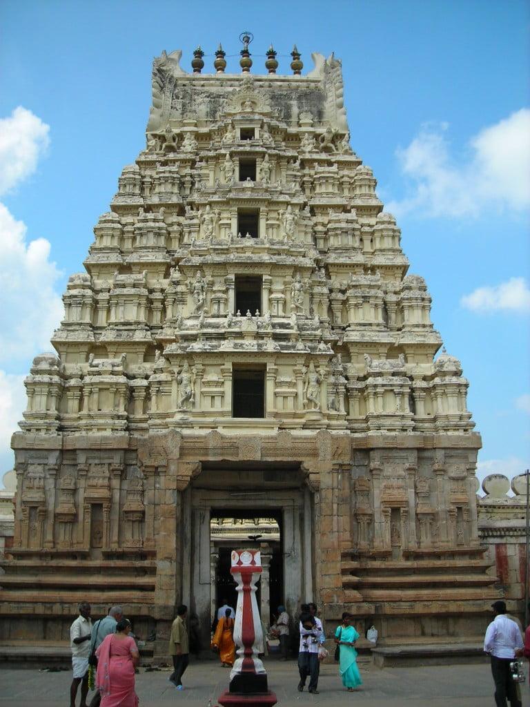 Dravidian-hindu-temple-architecture