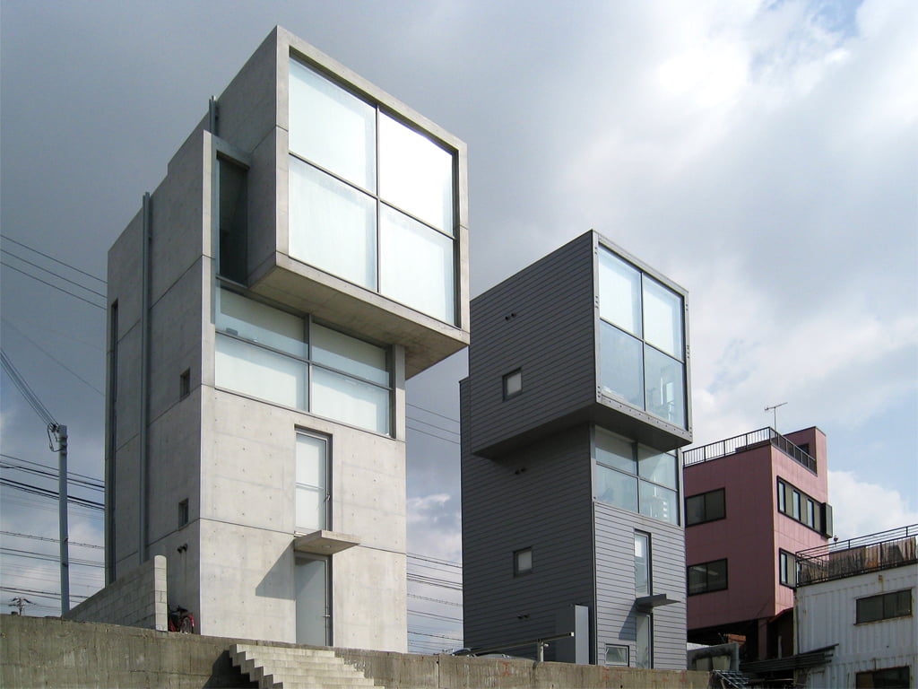 Contemporary japanese architecture style and characteristic for Architecture technique