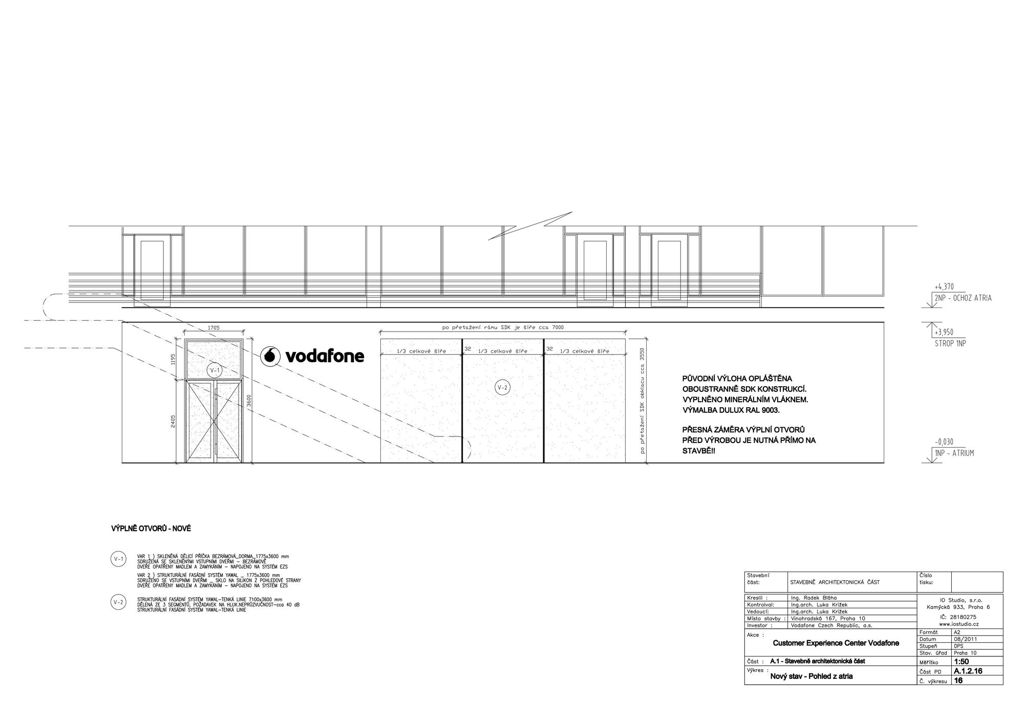 Vodafone Customer Experience Center Interior Design