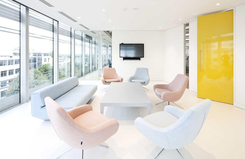modern office interior design of uktv,