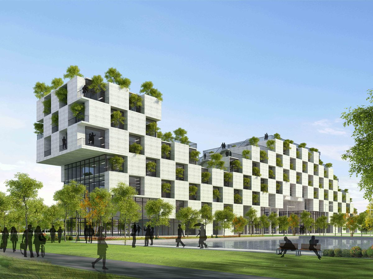 Sustainable Architecture Examples Interesting Hightech Style Inspiration Design