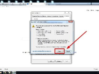 how to change browser settings in internet explorer