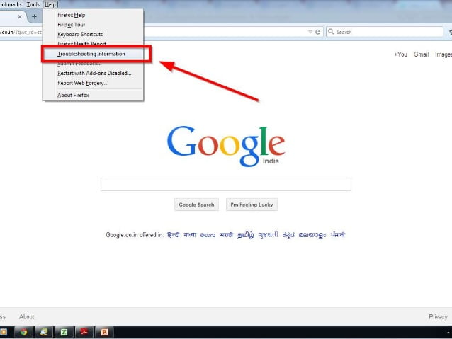 How to reset Mozilla Firefox-3