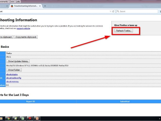 How to reset Mozilla Firefox-4