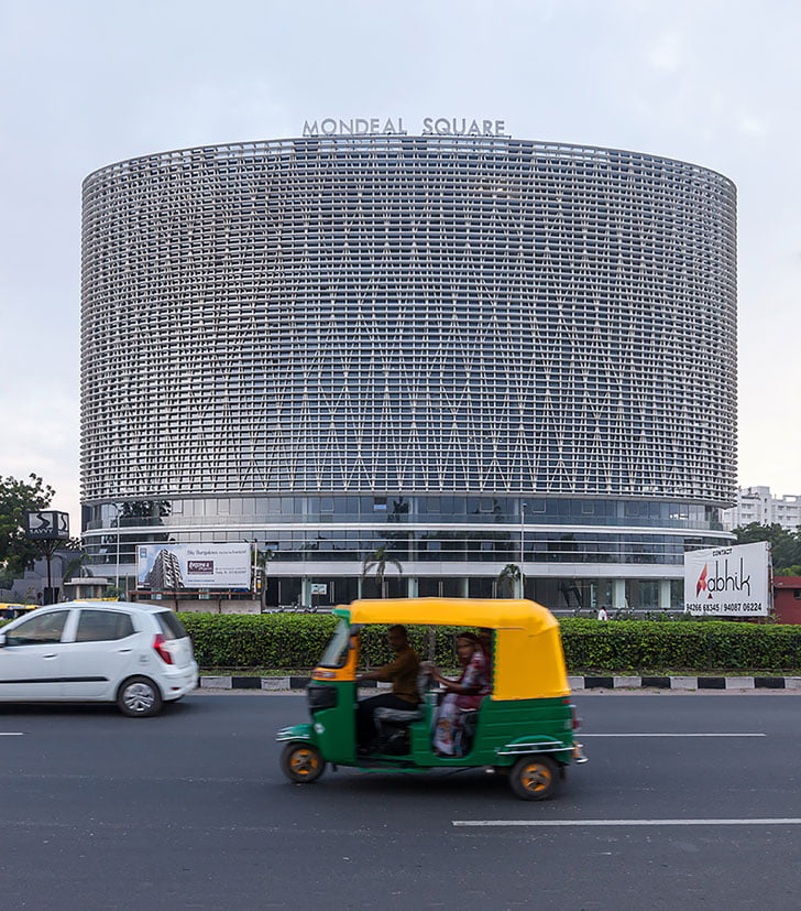 multifunctional building,