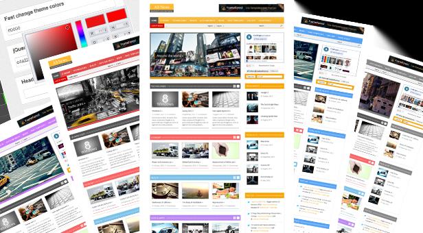 Responsive-WordPress-Theme, Platform,