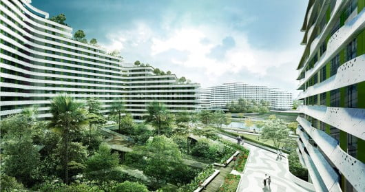 Verdant Urban Oasis, Punggol Waterway Terraces, Group8asia, Singapore, Master plan, Housing Development,