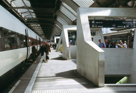 Zurich Main Train Station,