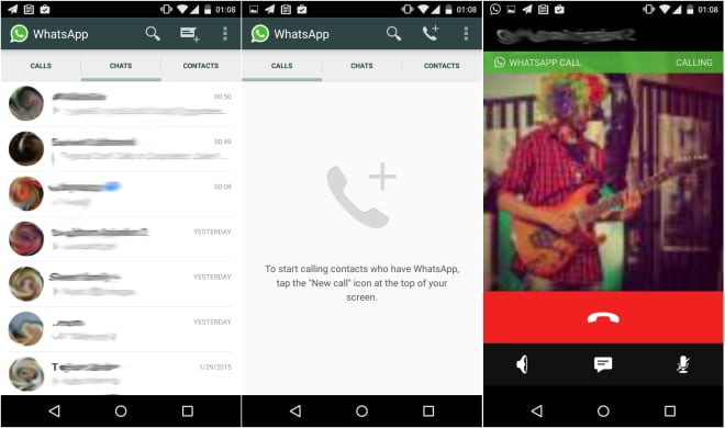 whatsapp free voice calls,