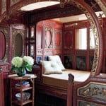 art nouveau interior design style,