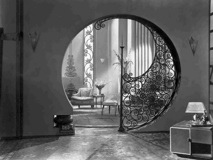 art nouveau interior design,
