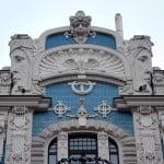 bulding elevation in art nouveau architecture charactristics,