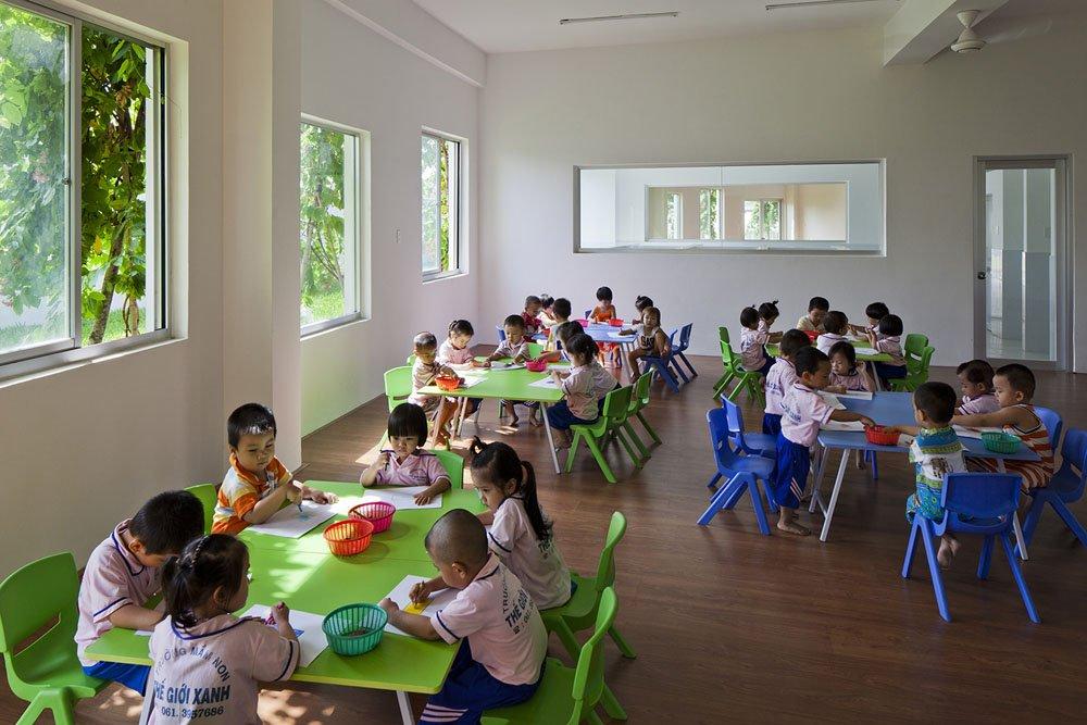 Farming, Kindergarten, Design Ideas, Vietnam,